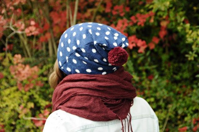 DIY Mütze aus altem Pullover