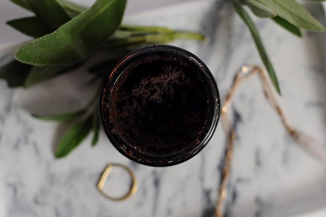 Natürliches Kaffee Peeling