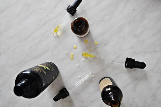 Mischhaut mit Öl pflegen